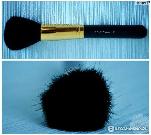 Набор кистей для макияжа Aliexpress Реплика MAC 12 штук 12 PCs Professional Makeup Brushes Soft Face Powder Brush Cosmetic Make Up Set With Case Bag Kit #11975 фото