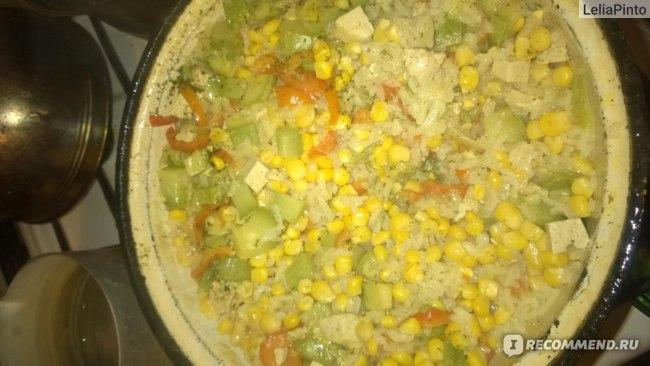 просто что-то с овощами и рисом