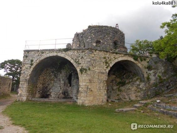 крепость в новом афоне абхазия