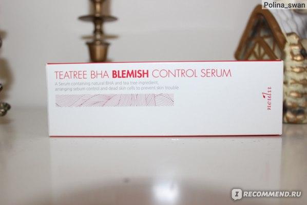 Сыворотка для лица Neulii Teatree BHA Blemish Control Serum фото