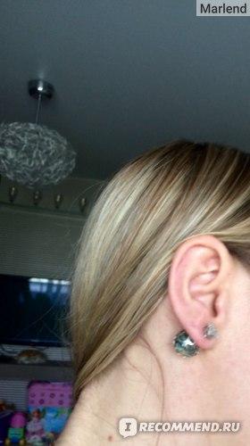 Серьги-пусеты Aliexpress Hot Sale Gold Filled Stud Earrings Wedding Jewelry Women's Fashion Hollow Ball Design Double Faced Crystal Earrings Wholesale фото