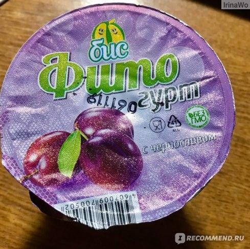 """Соевые продукты """"БИС"""" Фитогурт со вкусом вишни фото"""