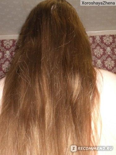 Волосы на третий день после последнего мытья. Без масок, только шампунь и бальзам