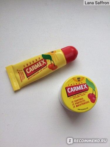 Бальзам для губ Carmex lip balm фото