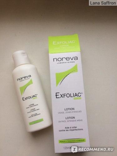 Лосьон для лица NOREVA laboratories Exfoliac с высокой концентрацией АНА и ВНА фото