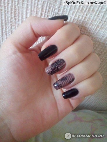 Фольга для декорации ногтей Aliexpress Top Quality 1pc 3D Black Lace stickers for nails Nail Art Foil Stickers Flower Nail Decals Tips Manicure Tool Popular фото