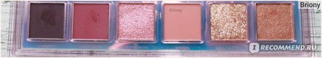 Huda Beauty Mercury Retrograde Palette  - отзыв  - ряд 3
