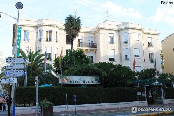 Ницца, отель Brice 3*