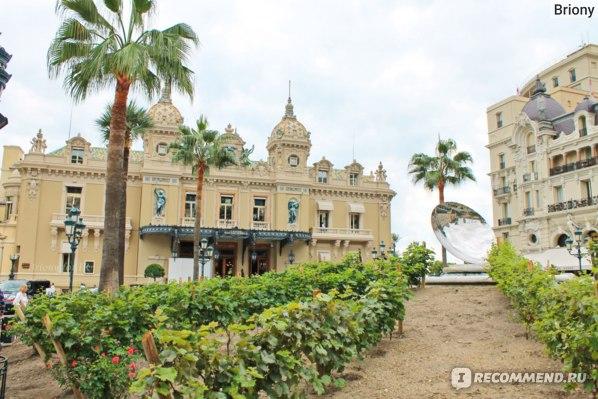 Куда съездить из Ниццы - Монако, казино Монте-Карло