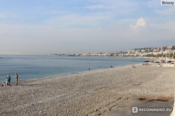 Ницца, пляж