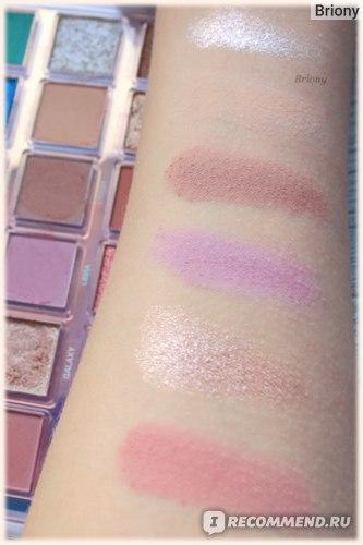 Huda Beauty Mercury Retrograde Palette  - ряд 2 дневной свет