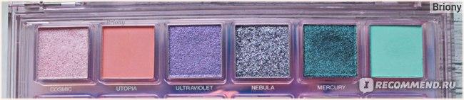 Huda Beauty Mercury Retrograde Palette  - ряд 1
