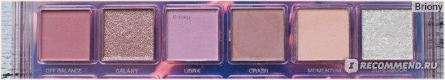 Huda Beauty Mercury Retrograde Palette  - отзыв - ряд 2