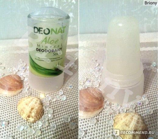 DeoNat, Aloe Mineral Deodorant, stick