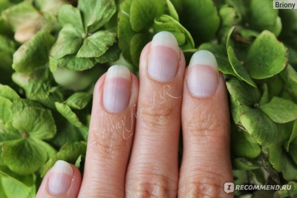"""Маникюр в домашних условиях: мои ногти в """"заброшенном"""" состоянии"""
