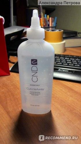 Бутылочка геля  для удаления кутикулы CND Cuticle Away