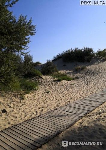 Дорожка с территории отеля до моря