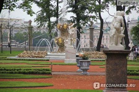 Летний сад, Санкт-Петербург фото