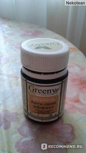 Маска для лица V.i.Cosmetics Greeny для проблемной кожи «Анти-акне эффект» фото
