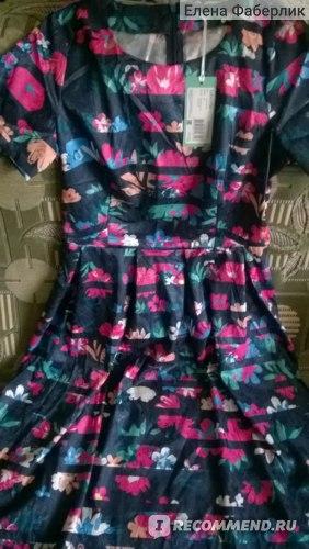 Платье Faberlic WSS08 женское, цвет темно-синий фото