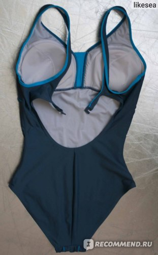Спортивный купальник JOSS Купальник серо-голубой WGS42S9148 фото