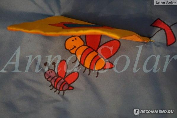 Пчелки под воздушным змеем