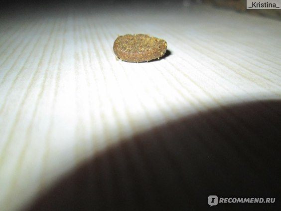 Толщина гранулы корма Acana