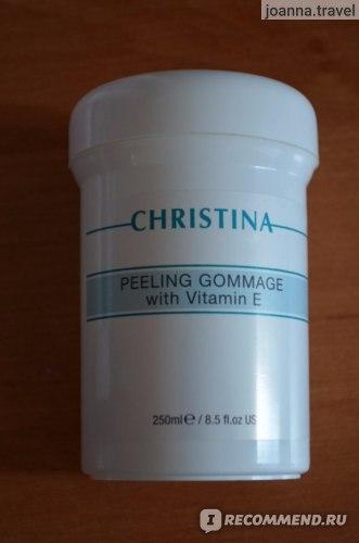 Пилинг для лица CHRISTINA Peeling Gommage with Vitamin E фото