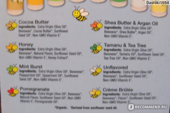 Бальзам для губ Sierra Bees Organic Pomegranate Beeswax Lip Balm with Vitamin E,15 oz (4.25 g) фото