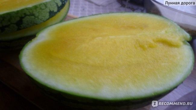 Ягода Арбуз желтый фото