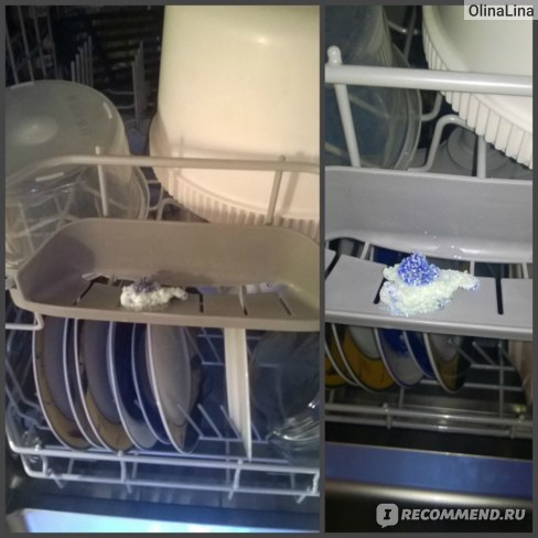 вот такая таблетка после мойки посуды((