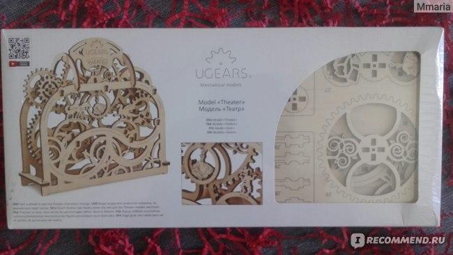 """Механический 3D конструктор из дерева сборная модель"""" Театр"""" UGEARS.  фото"""