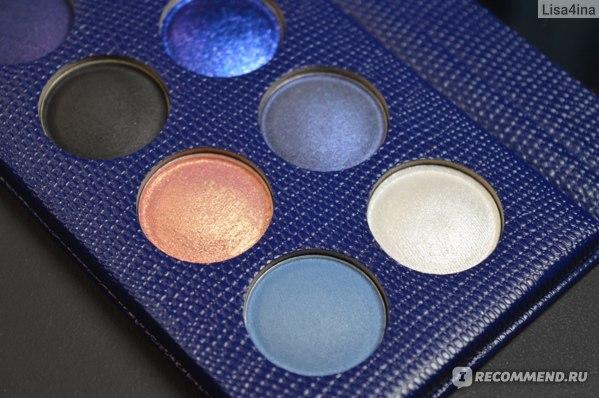 Палетка теней Revolution PRO Colour Focus Eyeshadow Smoke And Mirrors фото