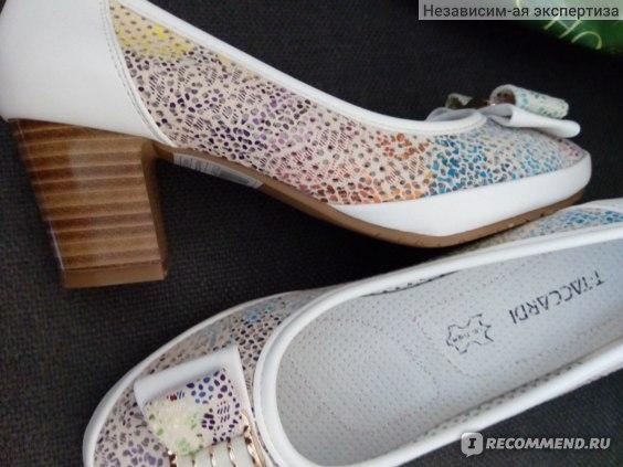 Туфли женские T.Taccardi артикул: 27320780. модель: LJ17S-53 фото