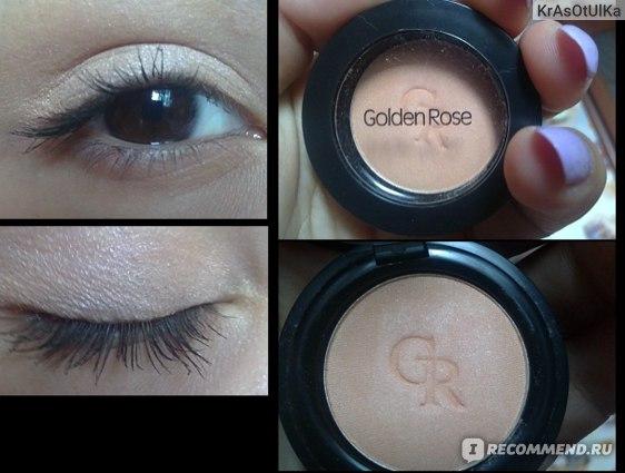 Тени Golden Rose Silky Touch Matte Eyeshadow фото