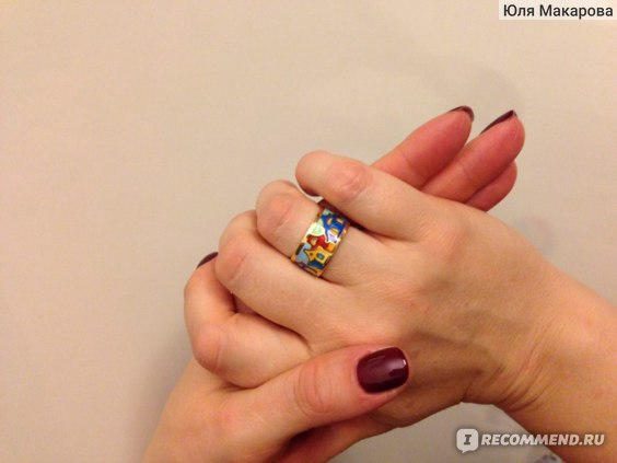 кольцо NAMFLEG на мооей руке