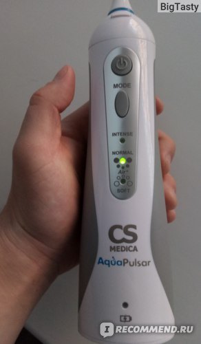 Ирригатор AquaPulsar CS Medica AquaPulsar CS-3 Air+ фото