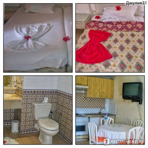 Le Hammamet 4* HOTEL & SPA (ex. Dessole, Тунис). Интерьер большого номера с двумя спальнями и гостинной
