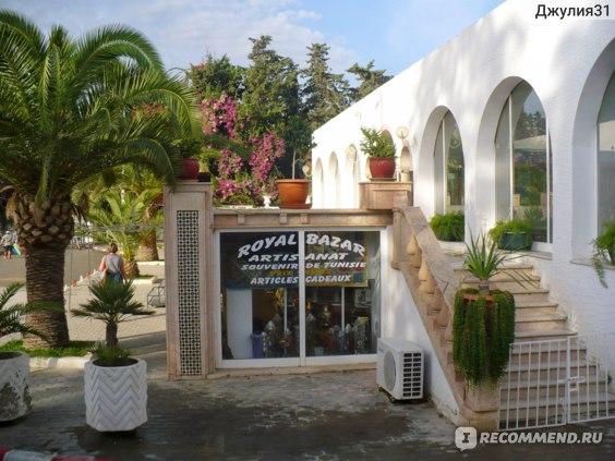 Le Hammamet 4* HOTEL & SPA (ex. Dessole, Тунис). Сувенирный магазин.