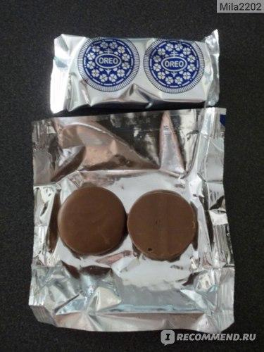 Печенье Oreo Milk choc фото