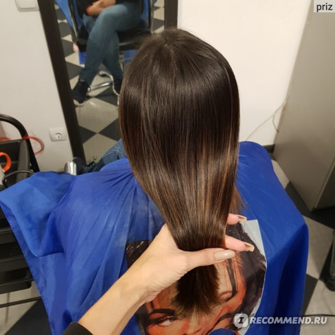 Кератиновое выпрямление результат, волосы ПОСЛЕ