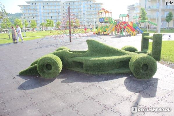 Сочи Парк Отель, детские площадки