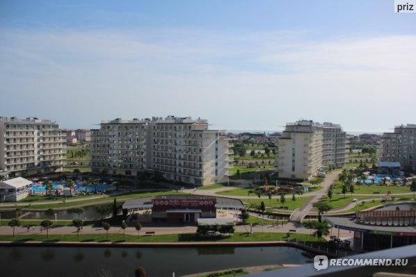 Сочи Парк Отель, вид на море