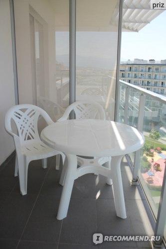 Сочи Парк Отель, балкон, мебель