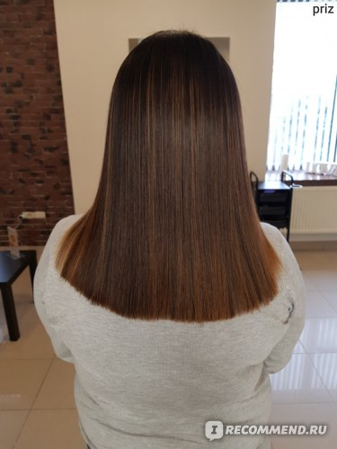 Как выглядят волосы через 2 месяца после кератинового выпрямления