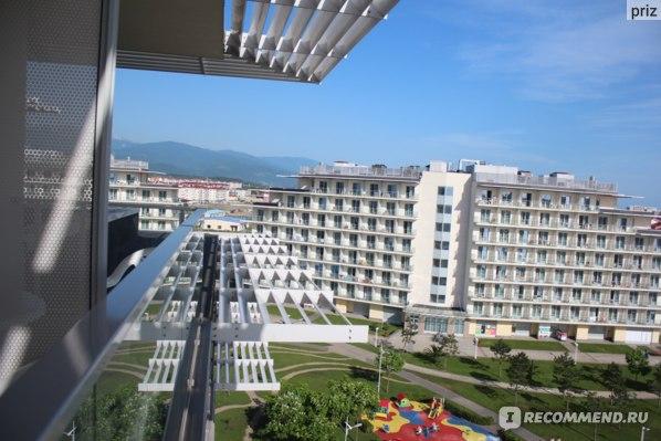 Сочи Парк Отель, вид на горы