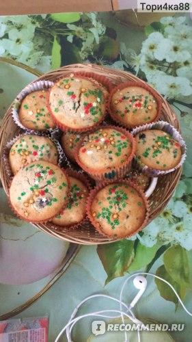 Наши рождественские кексы для рождественских встреч с родными!