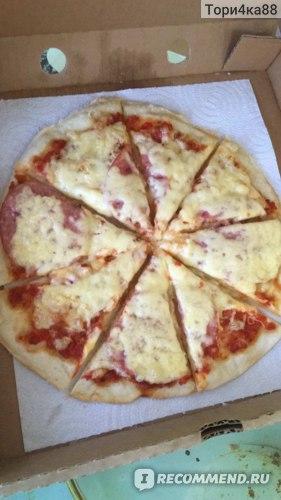 А вот и домашняя пицца! Пиццу теперь не покупаем!