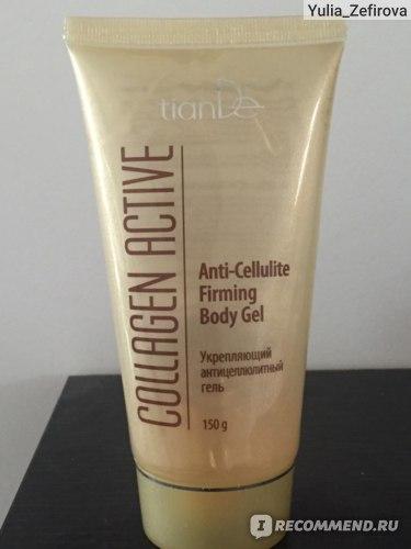 Антицеллюлитный гель TianDe Collagen Active Укрепляющий антицеллюлитный  фото