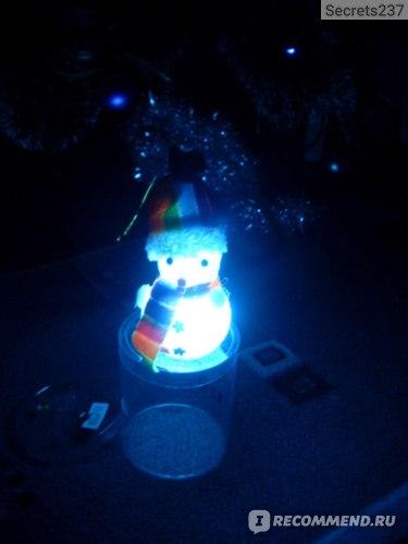 Светильник новогодний, 9 см Fix Price (Фикс Прайс) фото